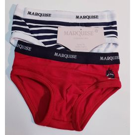 Marquise Boys 2pk Cotton Undies - Sailboat