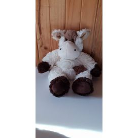 Cozy Plush 'Brown & Cream Cow' Kids Heat Pack
