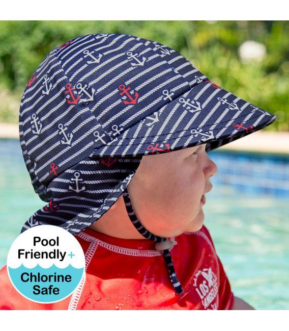 Bedhead Kids Legionnaire Beach Hat - Nautical