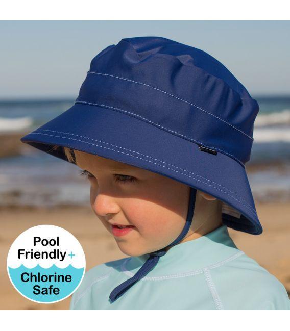 Bedhead Kids Bucket Swim Hat - Marine