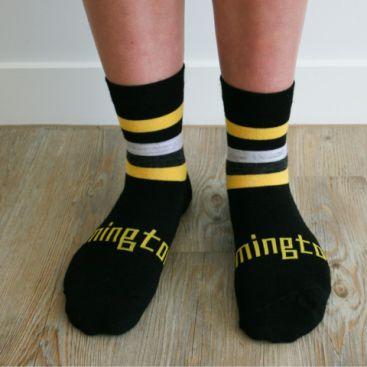Lamington Merino Wool Kids Crew Socks - Keeper