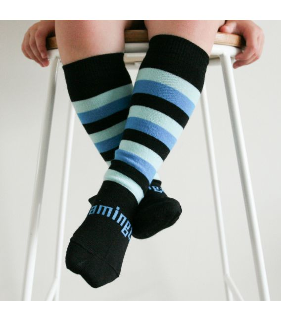Lamington Merino Wool Kids Knee Socks - Jetty