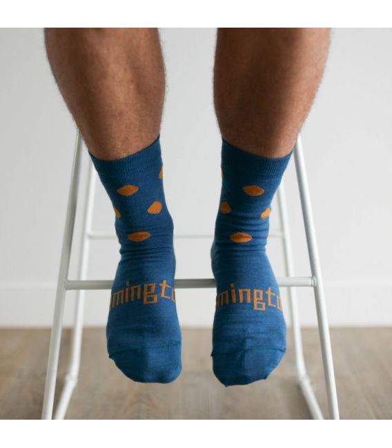 Lamington Merino Wool Mens Crew Socks