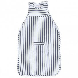 Merino Kids Duvet Weight Go Go Bag - Denim & Grey Stripe