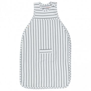 Merino Kids Duvet Weiht Go Go Bag - 'NEW' Flint & Grey Stripe