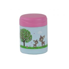 Bobble Art Food Thermos - Woodland Animals