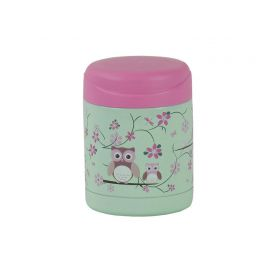 Bobble Art Food Thermos - Owl