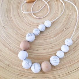 ONE.CHEW.THREE Evie Silicone Necklace
