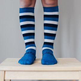 Lamington Merino Knee High Socks - Marine
