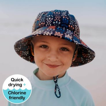 Bedhead Kids Beach Bucket Hat - Turtle