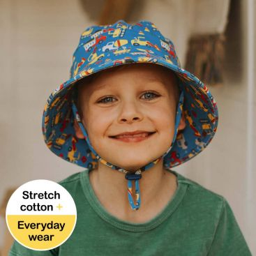 Bedhead Kids/Toddlers Bucket Hat - Construction