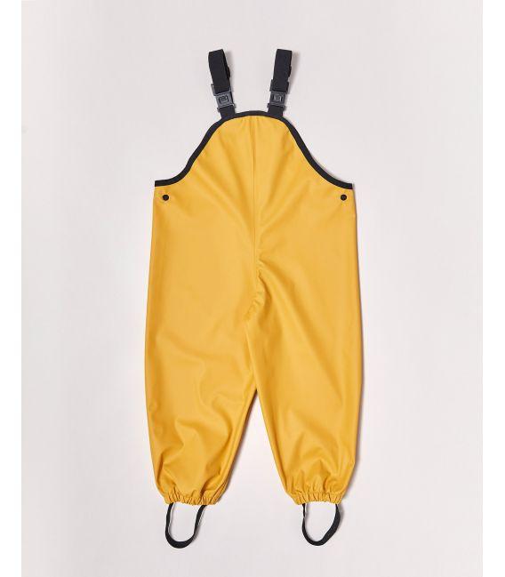 Rainkoat Kids Waterproof Overalls - Mustard