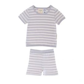 Woolbabe Merino/Organic Cotton Shorty Pyjamas