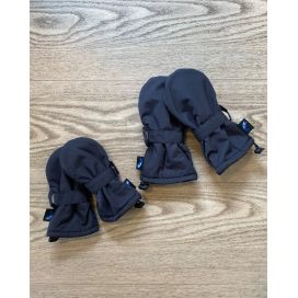 Puddle Jumpers Waterproof Baby/Toddler Mitts v2 (Navy)