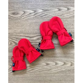 Puddle Jumpers Waterproof Baby/Toddler Mittens (Red)