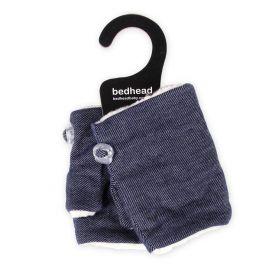 Bedhead Kids Fingerless Fleece Mittens - Denim