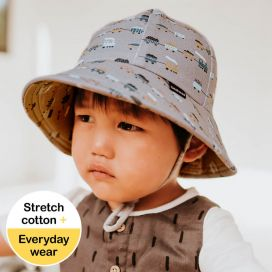 Bedhead Toddlers Bucket Hat - Trains